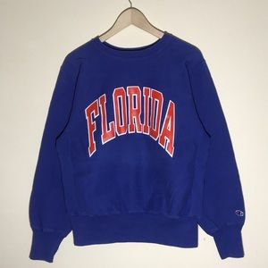 🔥Vintage 1980s Florida Gators Champion Sweatshirt
